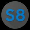 ikon Galaxy S8 Navigation Bar