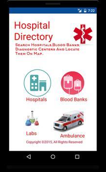 Hospital Directory India v2 poster