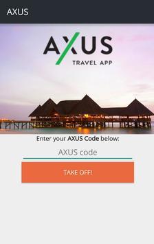 Axus Travel App poster
