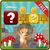 Hedgehog Ninja Run Free icon
