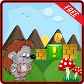 Hedgehog Shinobi JumpAdventure icon