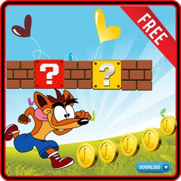 Super Fox Fast Jump Rush Coins poster