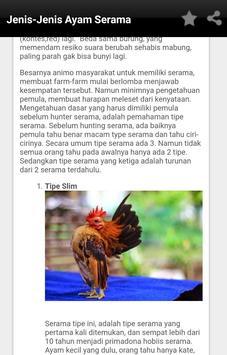 Budidaya Ayam Serama screenshot 2