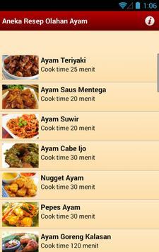 Aneka Resep Olahan Ayam apk screenshot