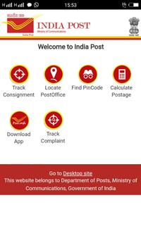 India Post Tracking Find The Pincode poster