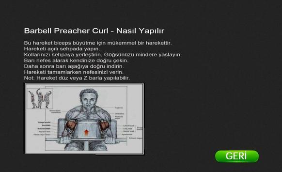 Bodybuilding Exercise screenshot 19