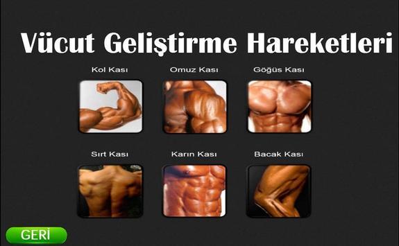 Bodybuilding Exercise screenshot 1