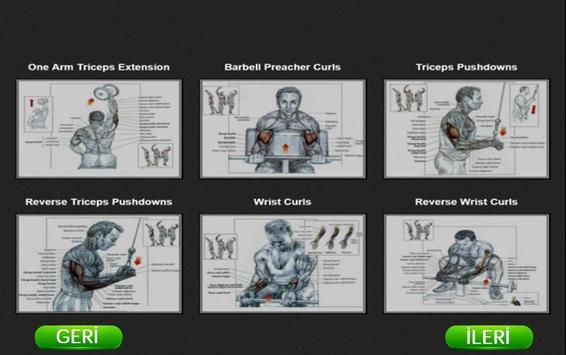 Bodybuilding Exercise screenshot 2