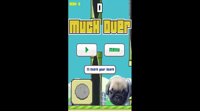 Flappy Pug poster