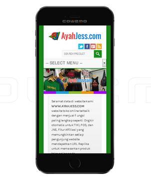 AyahJess.Com Online Store apk screenshot