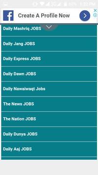 Latest Jobs in Pakistan 2019 screenshot 5
