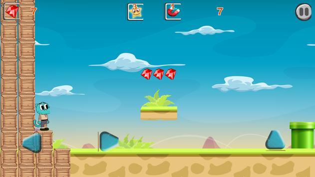 GumbalI Adventure - Super Run apk screenshot