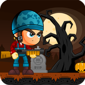 Zombies catchers-shooting game icon