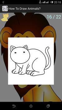 How To Draw Animals apk screenshot
