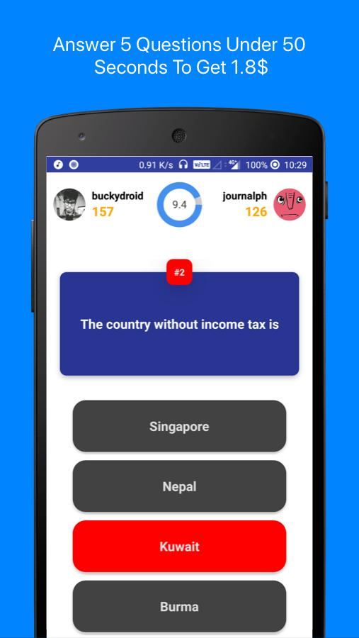 AyeQ : Quiz App To Earn Money Online for Android - APK Download