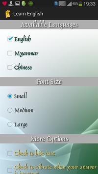 Learn English apk screenshot