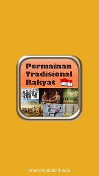 Permainan Tradisional Rakyat poster