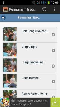 Permainan Tradisional Rakyat apk screenshot