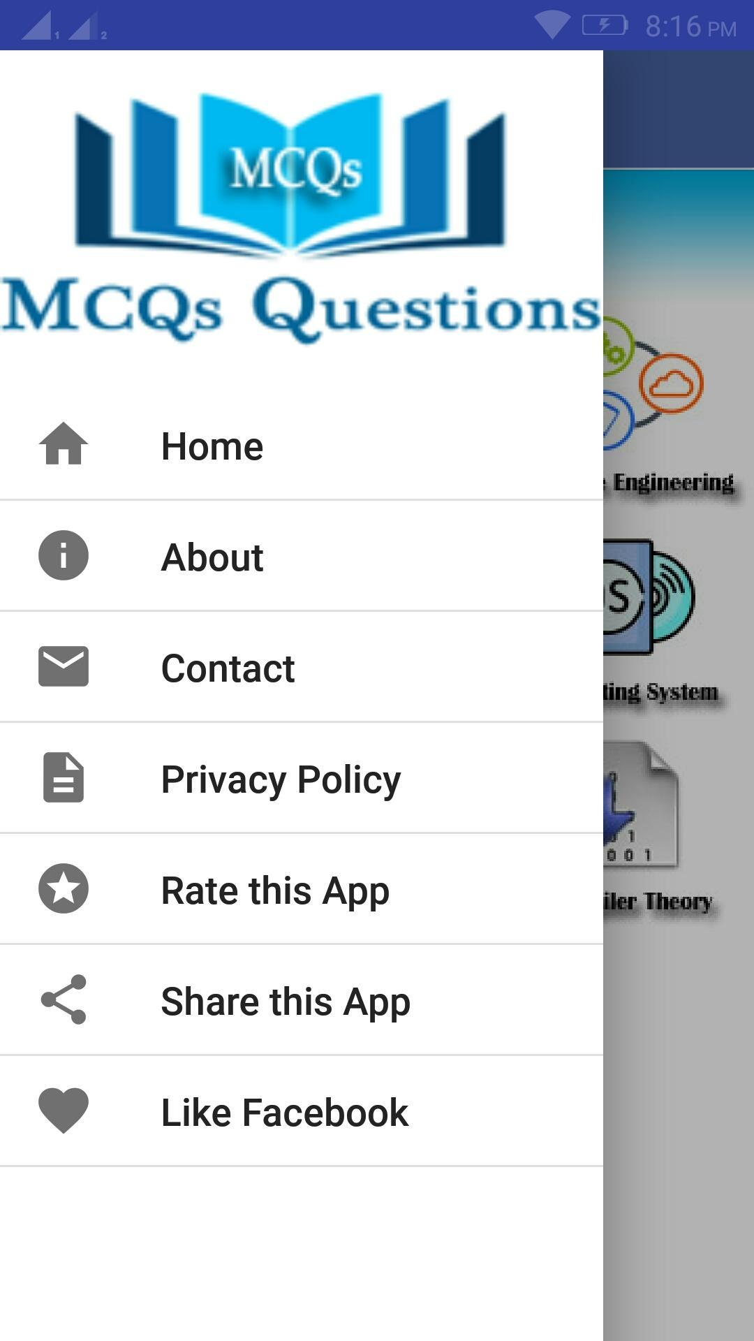 NTS, PPSC & FPSC Test MCQs for Android - APK Download