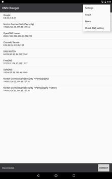 DNS Changer screenshot 10