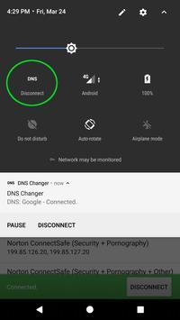 DNS Changer screenshot 2