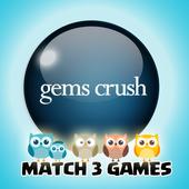 Gems Crush Match 3 icon