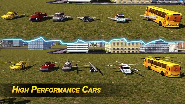 Flying Robot Transformer screenshot 12