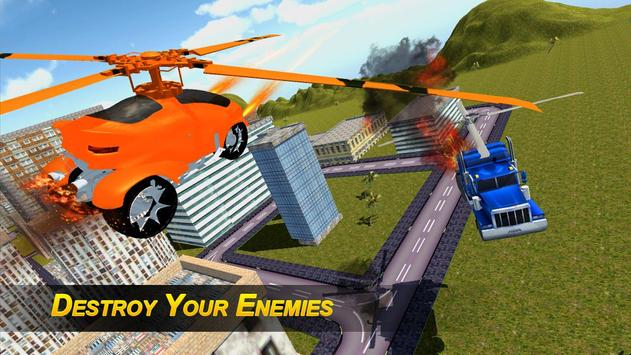 Flying Robot Transformer screenshot 8