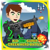 Kid Ben Super Green Hero Battle icon