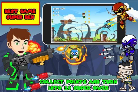 Kid Ben Super Green Hero Battle apk screenshot