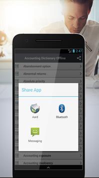 Accounting Dictionary Offline apk screenshot