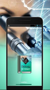 Biology Dictionary Offline poster