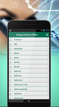 Biology Dictionary Offline screenshot 1