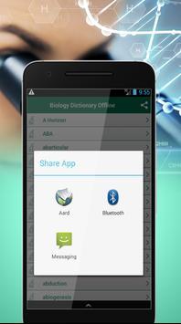 Biology Dictionary Offline apk screenshot