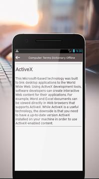 Computer Terms Dictionary Offline screenshot 2