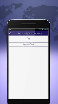 French English dictionary offline screenshot 3