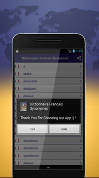 Dictionnaire Francais Synonymes screenshot 3
