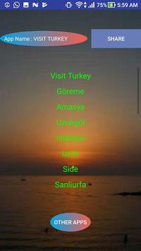 VISIT TURKEY poster