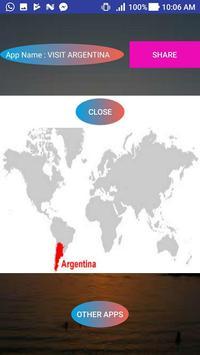 VISIT ARGENTINA poster
