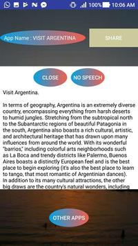 VISIT ARGENTINA apk screenshot