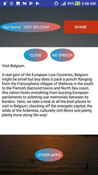 VISIT BELGIUM screenshot 1