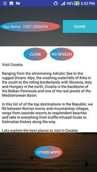 VISIT CROATIA apk screenshot