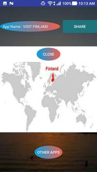 VISIT FINLAND poster