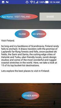 VISIT FINLAND apk screenshot