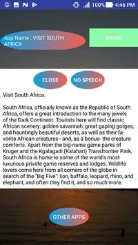 VISIT SOUTH AFRICA apk screenshot
