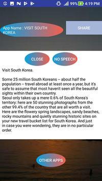 VISIT KOREA apk screenshot