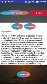 VISIT SWEDEN screenshot 1