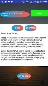 RESEP AYAM PENYET screenshot 1