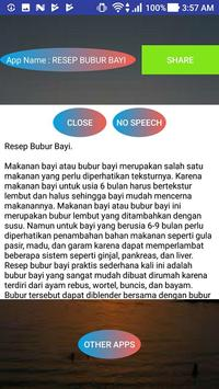 RESEP BUBUR BAYI screenshot 1