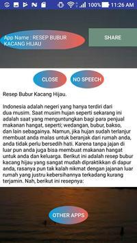 RESEP BUBUR KACANG HIJAU screenshot 1